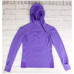 Lululemon Spirit cuffin thumbhole hooded pullover